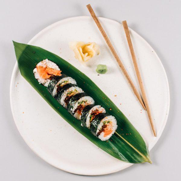 Futomaki Ebi - Sake